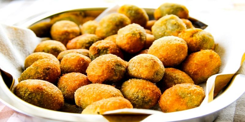 Olive all Ascolana Stuffed and Fried Olives